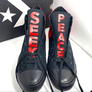 Converse Shoes - New: Converse Chuck Taylor All Star SEEK PEACE